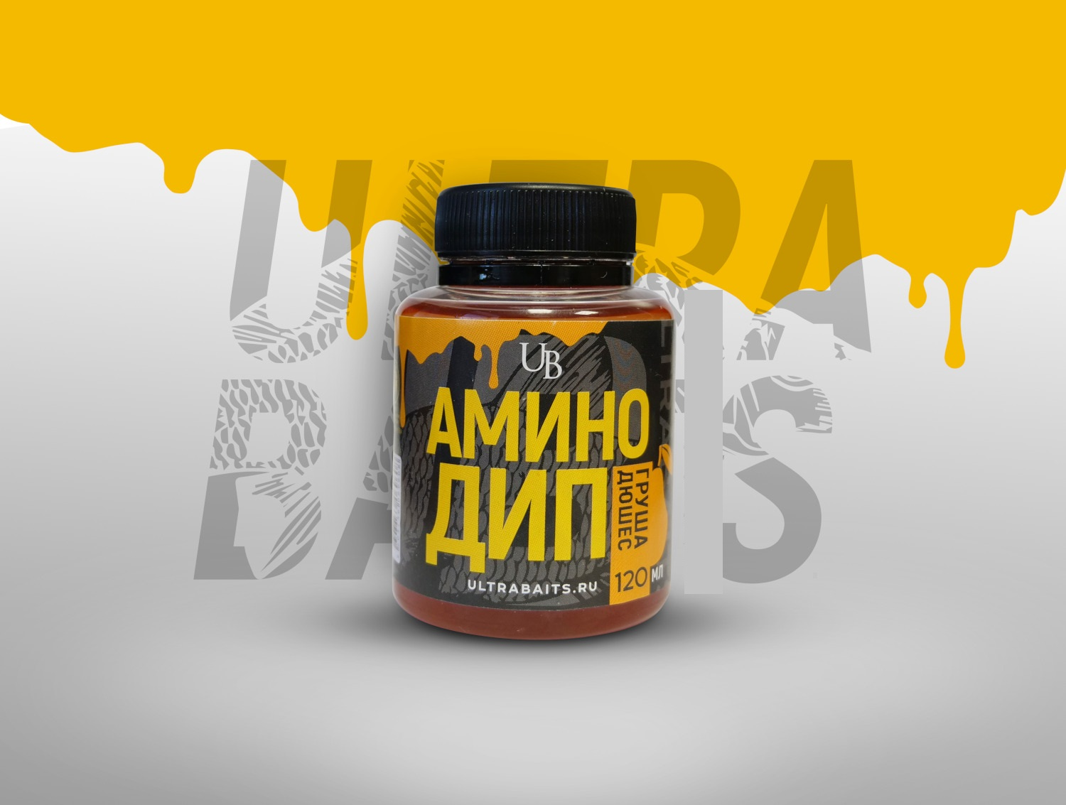 Аминодип Ultrabaits  Pear Duchess 120 мл   Груша Дюшес