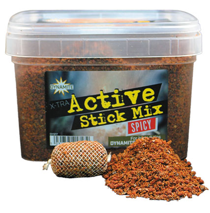 Stick Mix Dynamite Baits Xtra Active  Spicy  650 г (Специи)