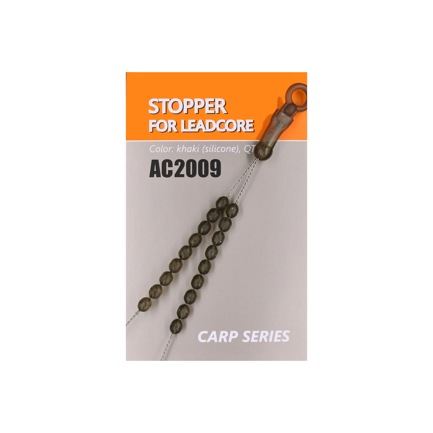 Стопора для оснасток Orange Carp Stopper for leadcore  (зеленый)