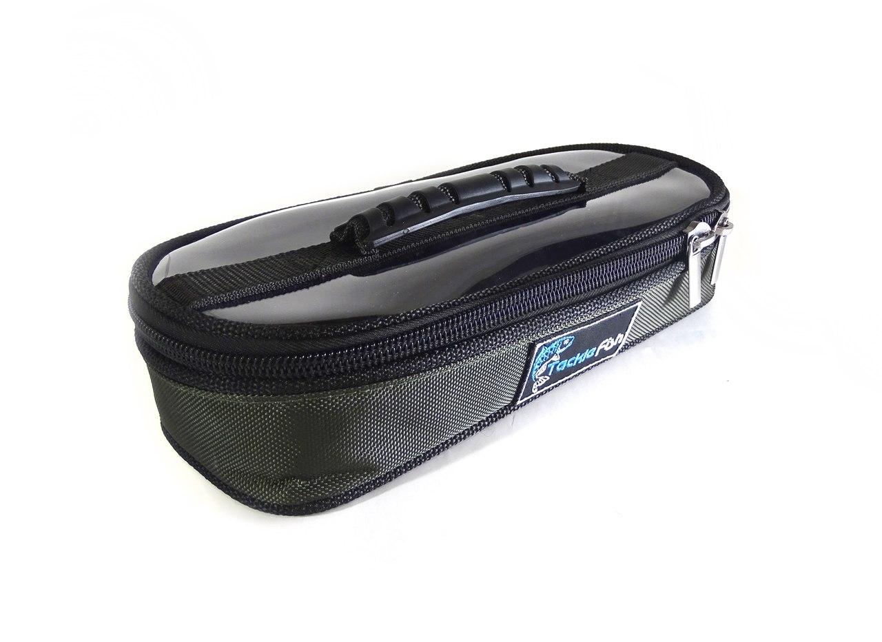 3db514d6ff7c Сумка для аксессуаров Tackle Fish Lead Bag (L), прозрачная
