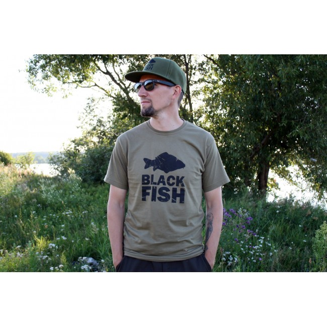 Футболка Black Fish T-Shirt Khaki Размер XXXL