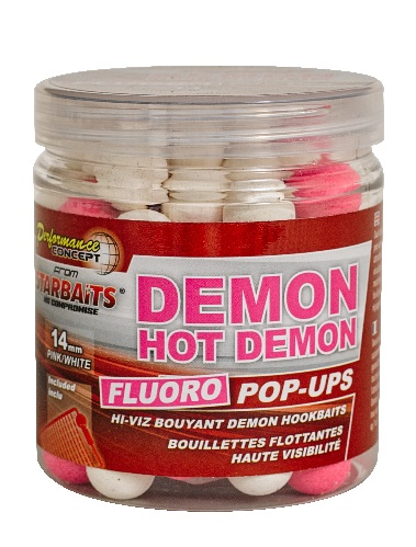 Бойлы плавающие StarBaits Fluo  Hot Demon 14мм 80 г (Специи)