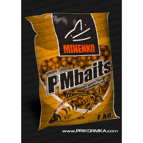 Бойлы пылящие Minenko PMbaits Honey 26мм 1 кг (Мед)