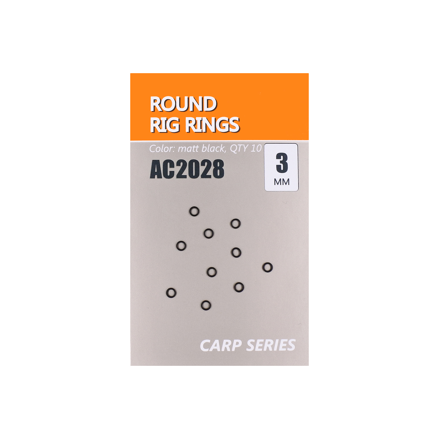 Кольца Orange Carp Round Rig Rings AC2028 d 3,1мм