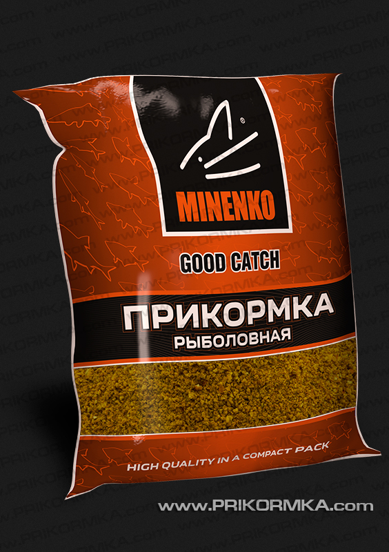 Прикормка Minenko Good Catch Crucian 700 г (Карась)