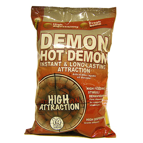 Бойлы тонущие StarBaits  Hot Demon 14мм 1 кг (Специи)