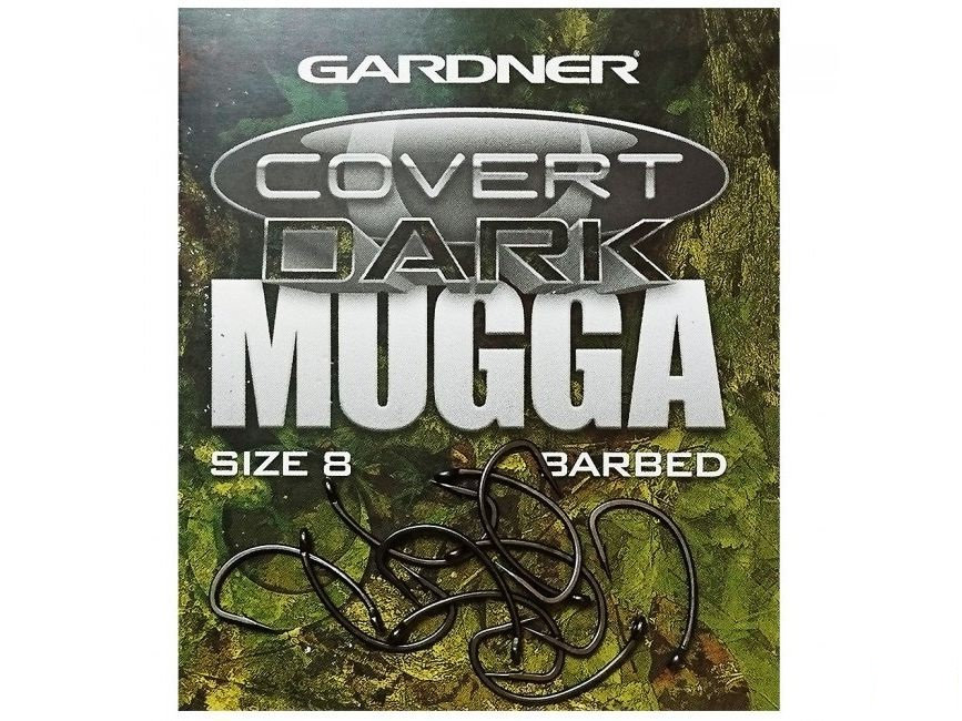 Крючки Gardner Covert Dark Mugga Hook Size 2