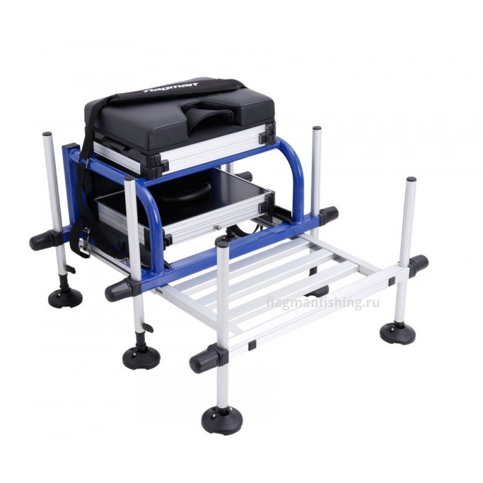 Платформа Flagman High Quality Seatbox with foot plate blue frame D 25мм