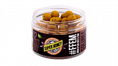 Бойлы пылящие FFEM Baits насадочные Soluble Boilies Super Honey 12мм 80 г (Супер мёд)